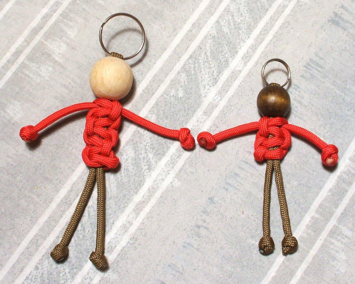 Человечки из ниток своими руками