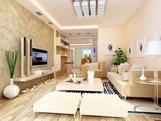 Дизайн гостиной в стиле модерн 17 кв.м