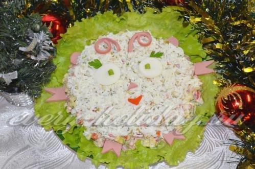 Салат барашек рецепты с