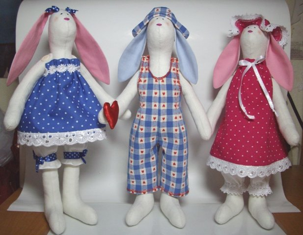 Создание игрушек и кукол своими руками