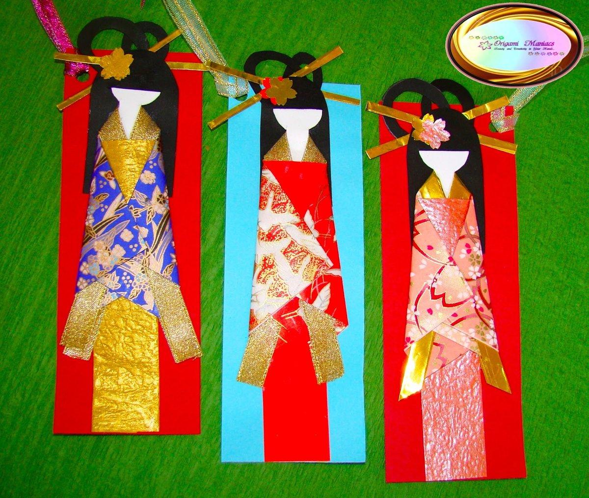 Поделки куклы с оригами 51