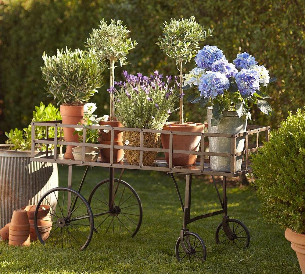 Фото декорации своими руками в саду