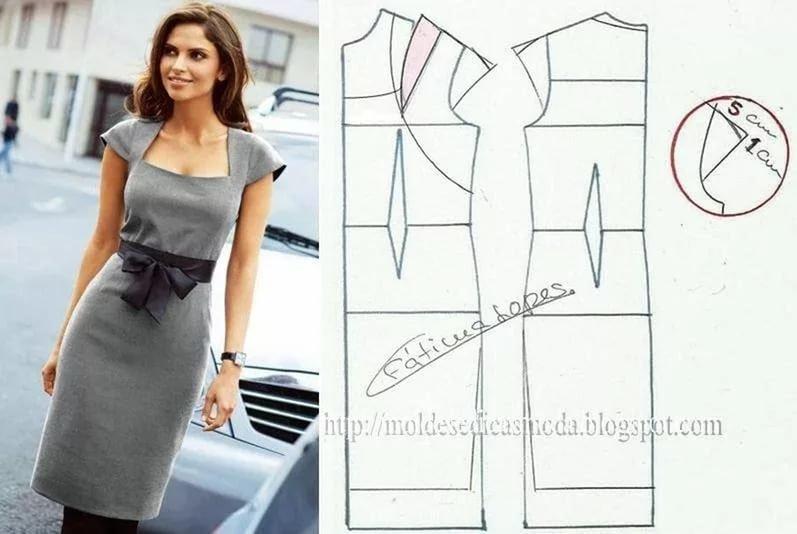 Платье для офиса сшить 99