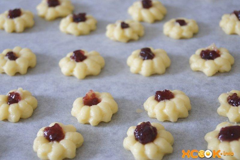 Печенье курабье рецепт пошаговый с