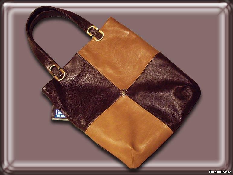 Самим сшить сумку из кожи 129
