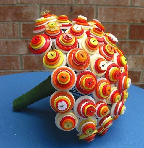 Необычные поделки цветов
