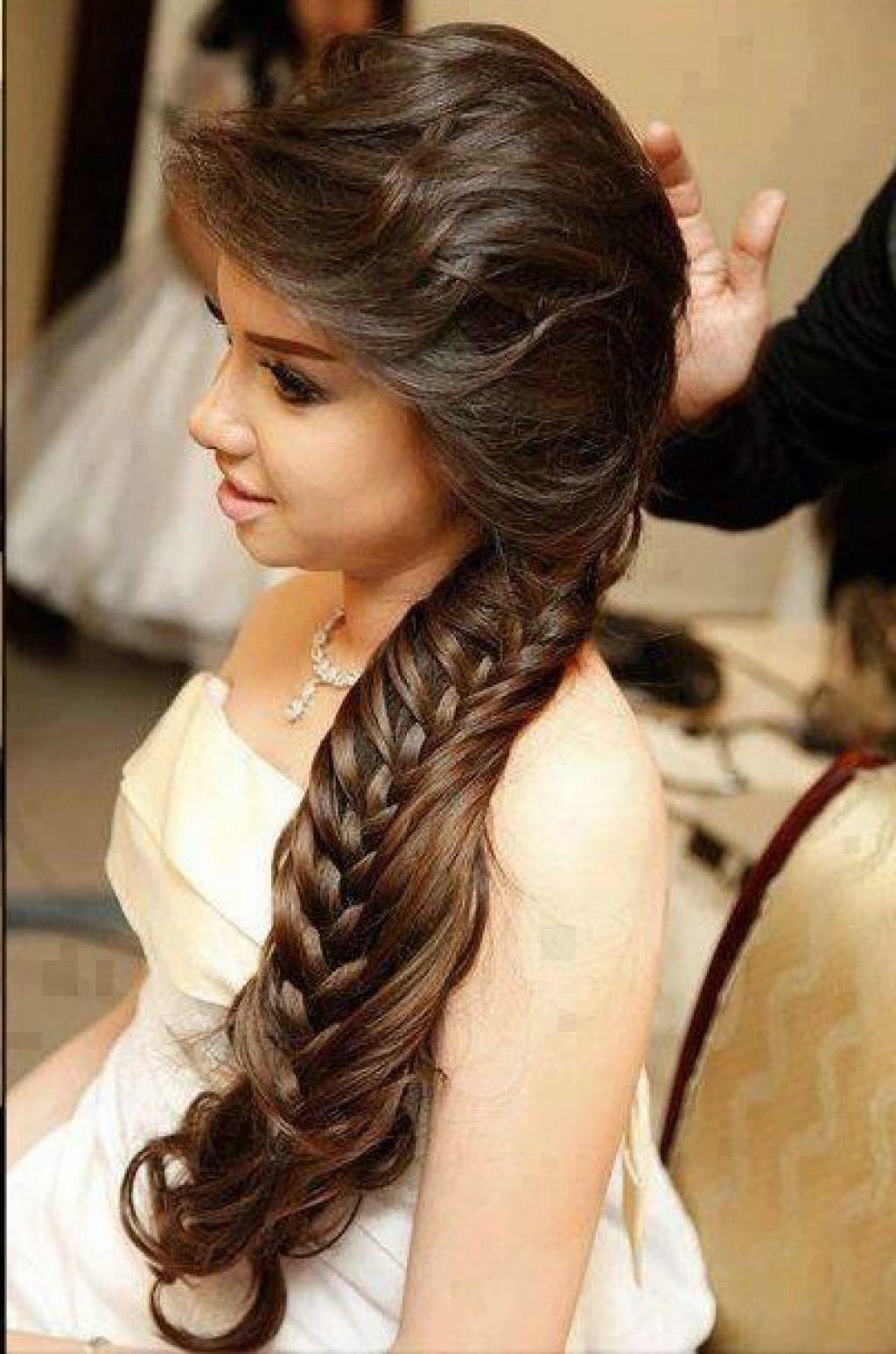 Самые красивые прически на длинные волосы для девочек