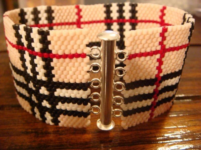 Браслеты из бисера плетеные