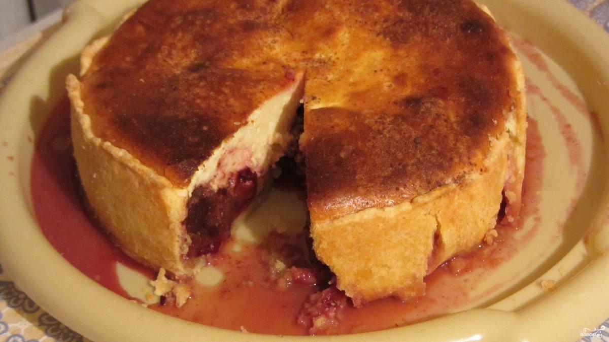 Пирог со сливами в духовке пошаговый рецепт