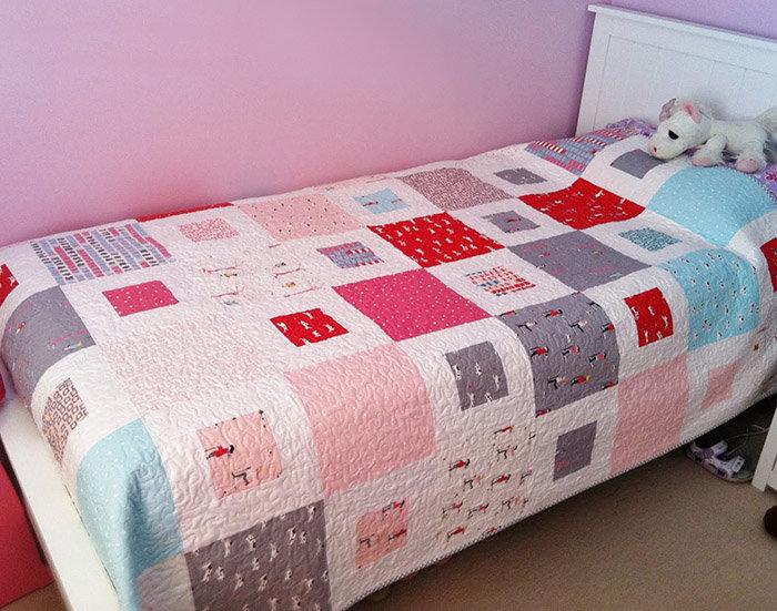 Простегать одеяло своими руками