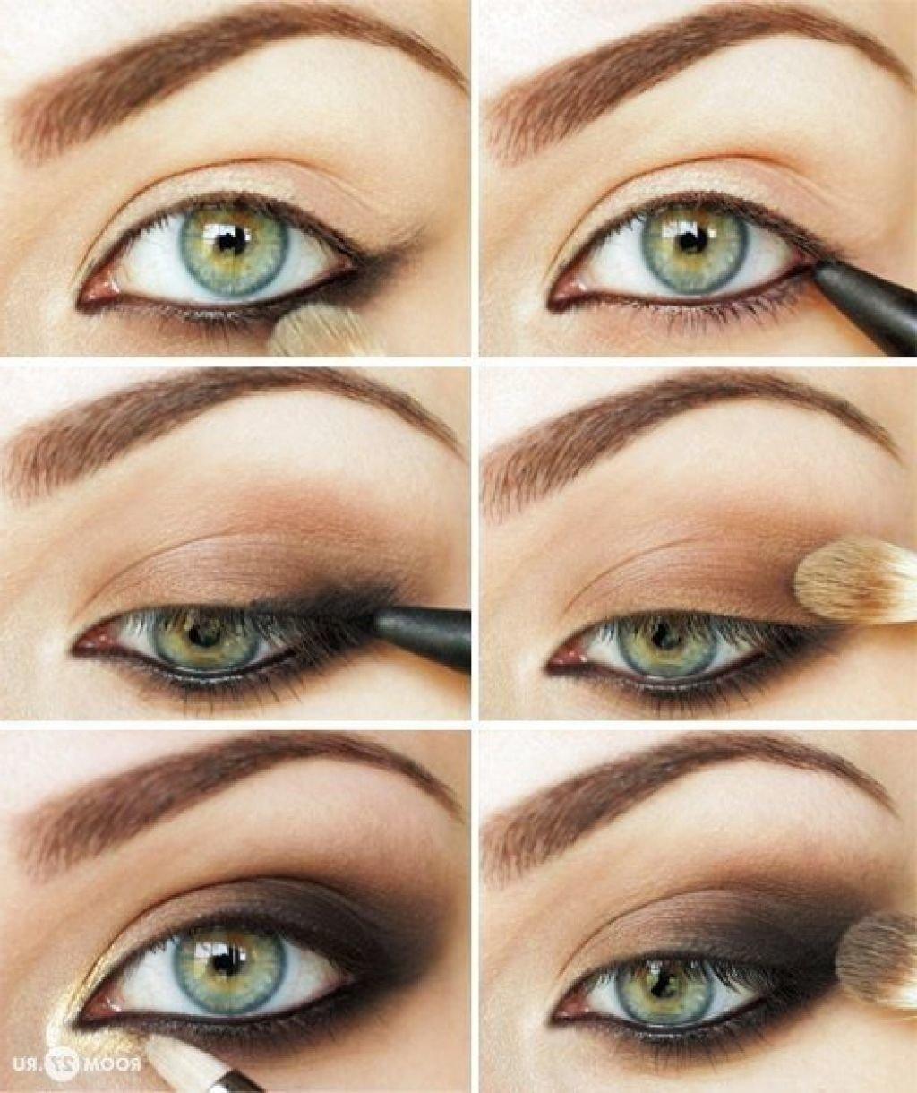 Макияж для зеленых глаз на каждый день фото пошагово легкие