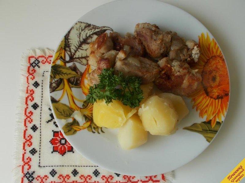 Жареное мясо в мультиварке рецепты с фото