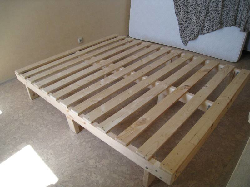 Основание для кровати сделать своими руками 82