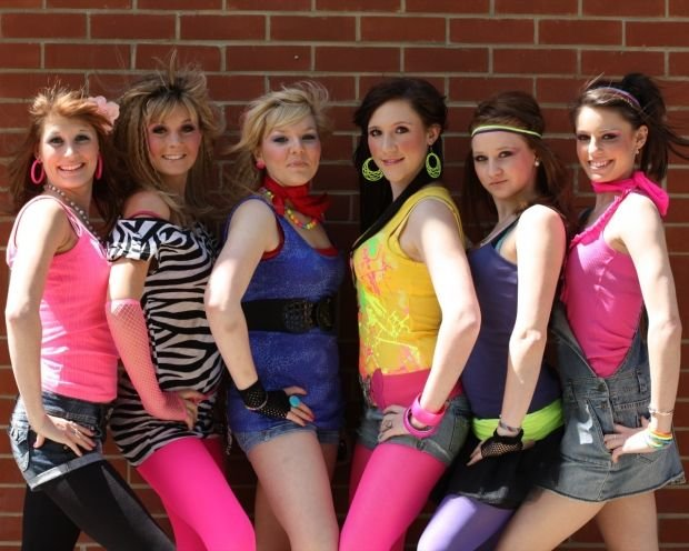 photo of girls 80's style № 1264