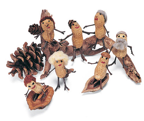 Поделки из арахиса своими руками фото 96