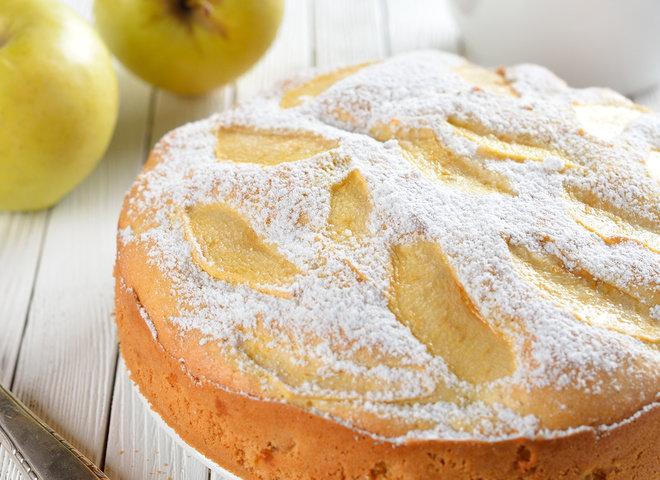 Вкусная и пышная шарлотка с яблоками рецепт с пошагово в духовке