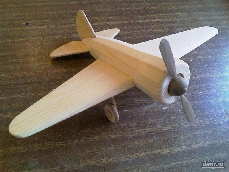Как сделать самолет из дерево своими руками