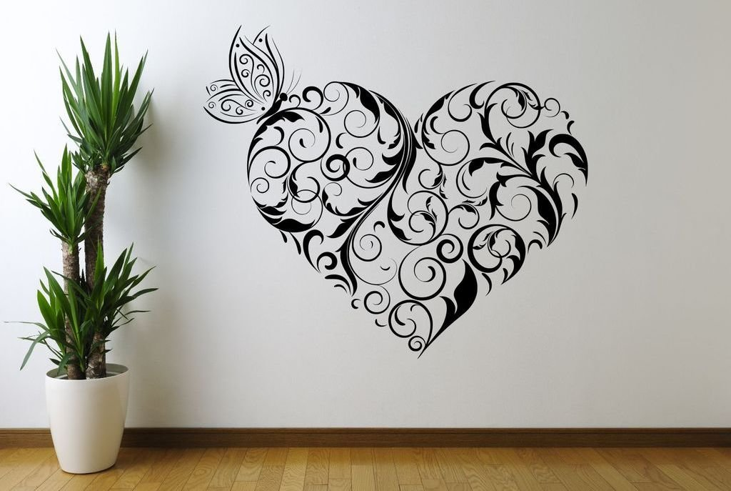 Трафареты для дизайна стен своими руками 75