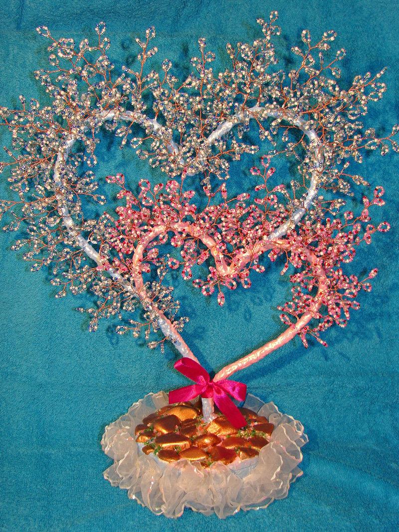 Дерево любви бисер