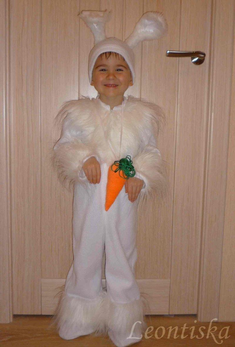 Как сшить шапочку зайца