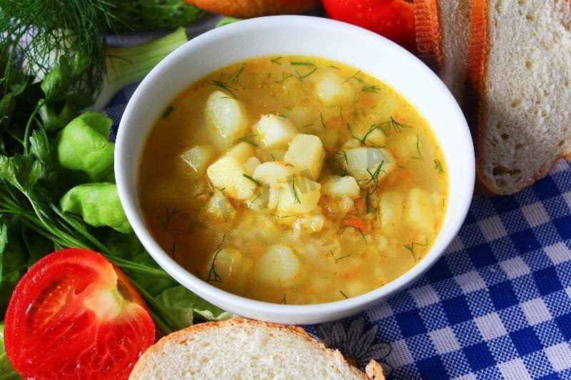 Сварить куриный суп с рисом и картошкой пошаговый рецепт