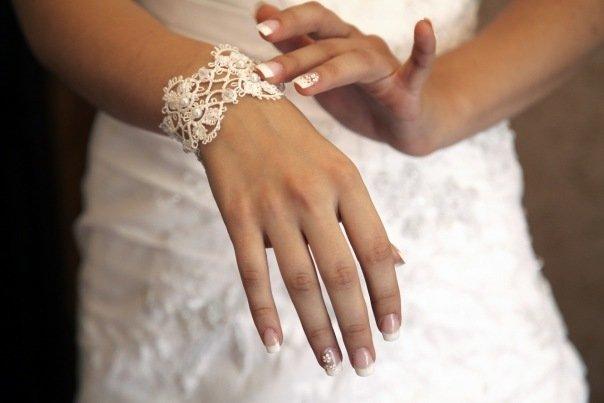 Свадебные украшения на невесту своими руками