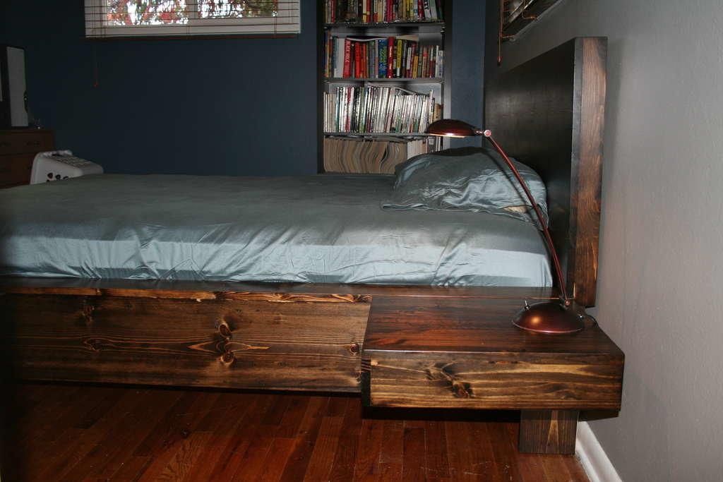 Как сделать отличную кровать своими руками из дерева - инструкция и чертежи