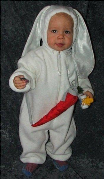 Как сшить костюм зайца своими руками на взрослого