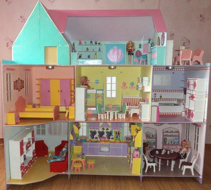 Мебель для детского домика своими руками 22