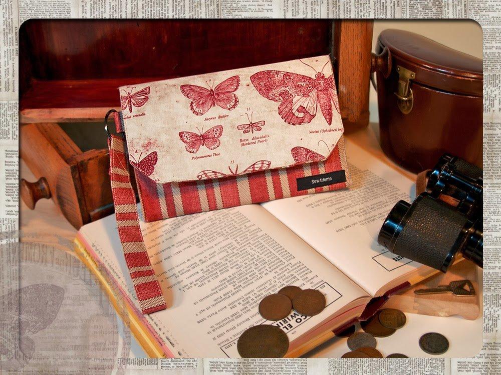 Бумажник из ткани своими руками 22