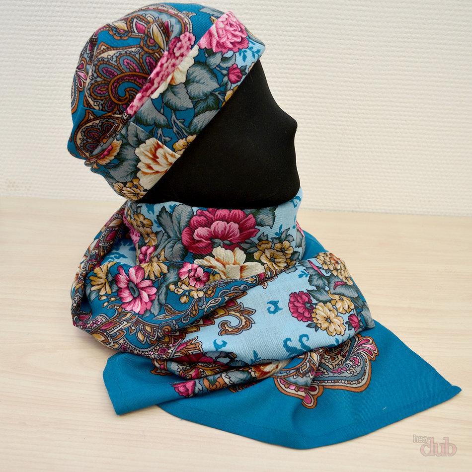 Как сшить шапку из платка своими руками и выкройки к ним