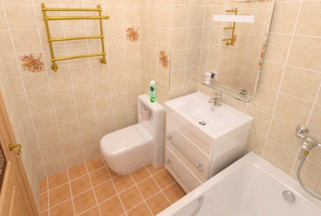 Как сделать ванну в панельном доме 667