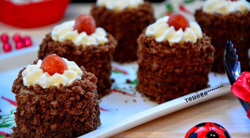 Вкусные пирожные в домашних условиях с фото