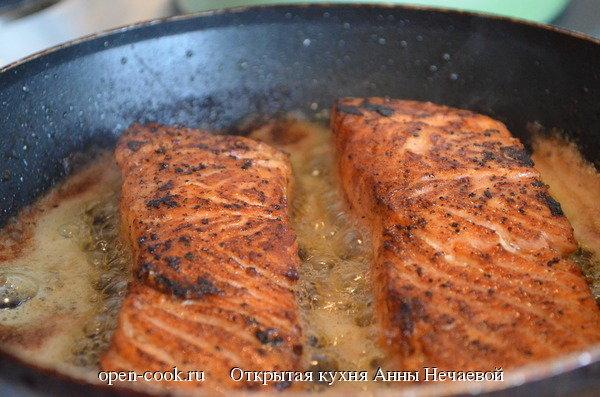 Рецепты из форели жареная