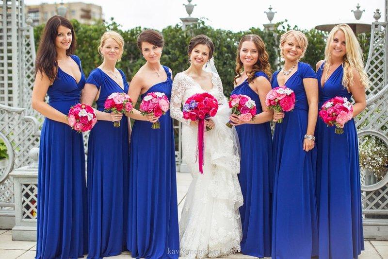 Платья для подружек невесты в