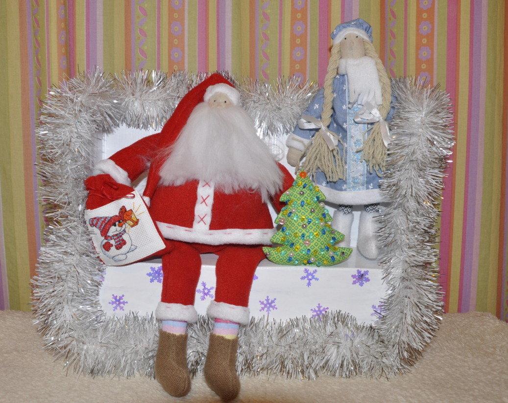 Дед мороз для нового года своими руками