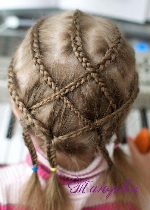 Плетение кос для садика 2