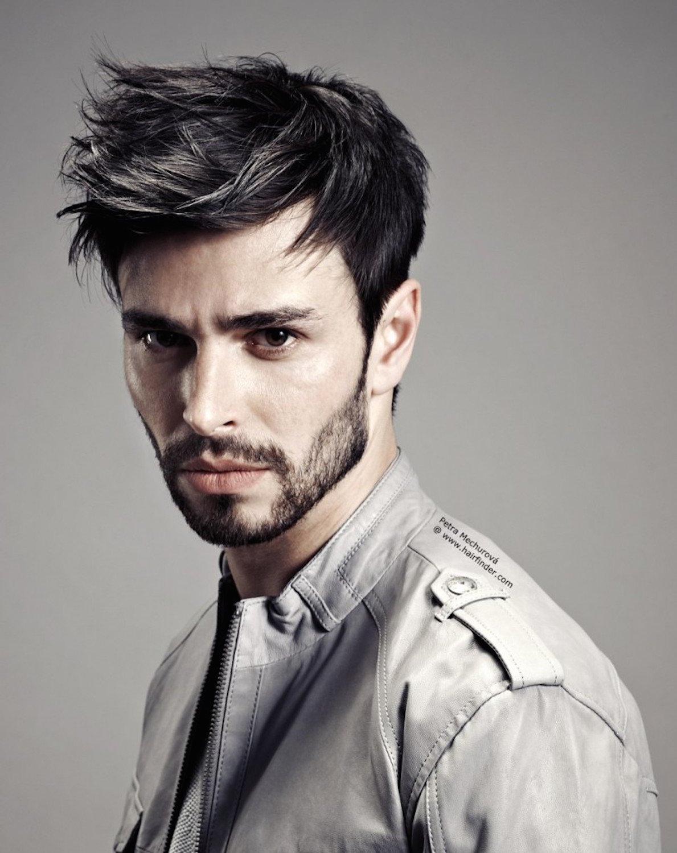 Причёска стиль гранж мужская