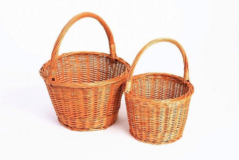 Плетеные маленькие корзины