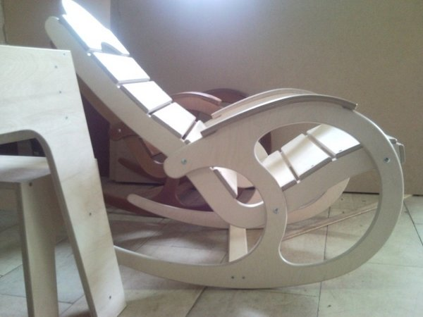 Кресло качалка своими руками схема чертеж 74