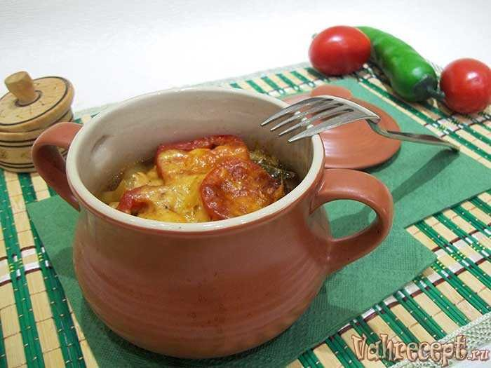 Фото рецепты пошаговые в горшочке