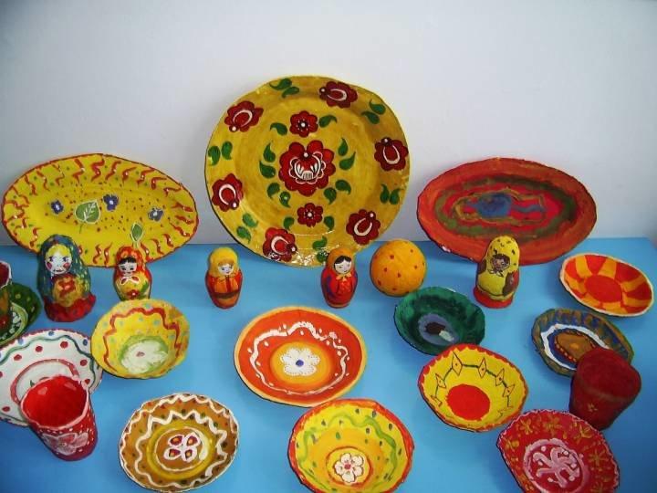 Поделки из папье маше в детском саду