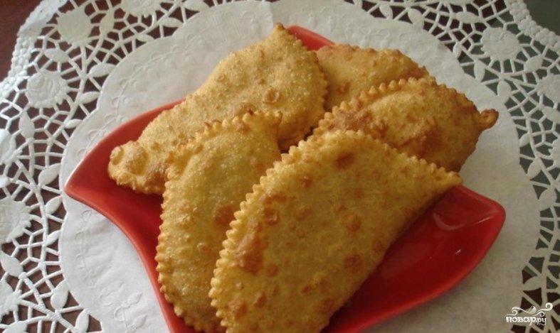 Рецепт заварного теста для чебуреков пошагово