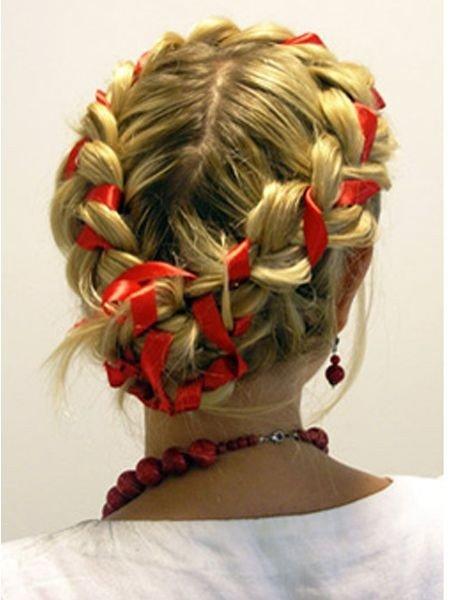 Прически русские народные для девочки