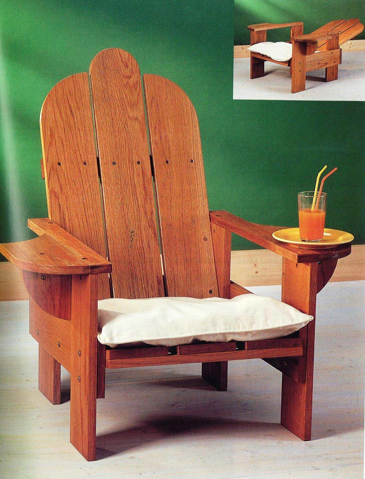 Как сделать с стула кресла 155