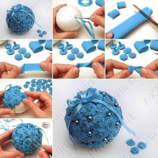 Как сделать игрушку шар своими руками