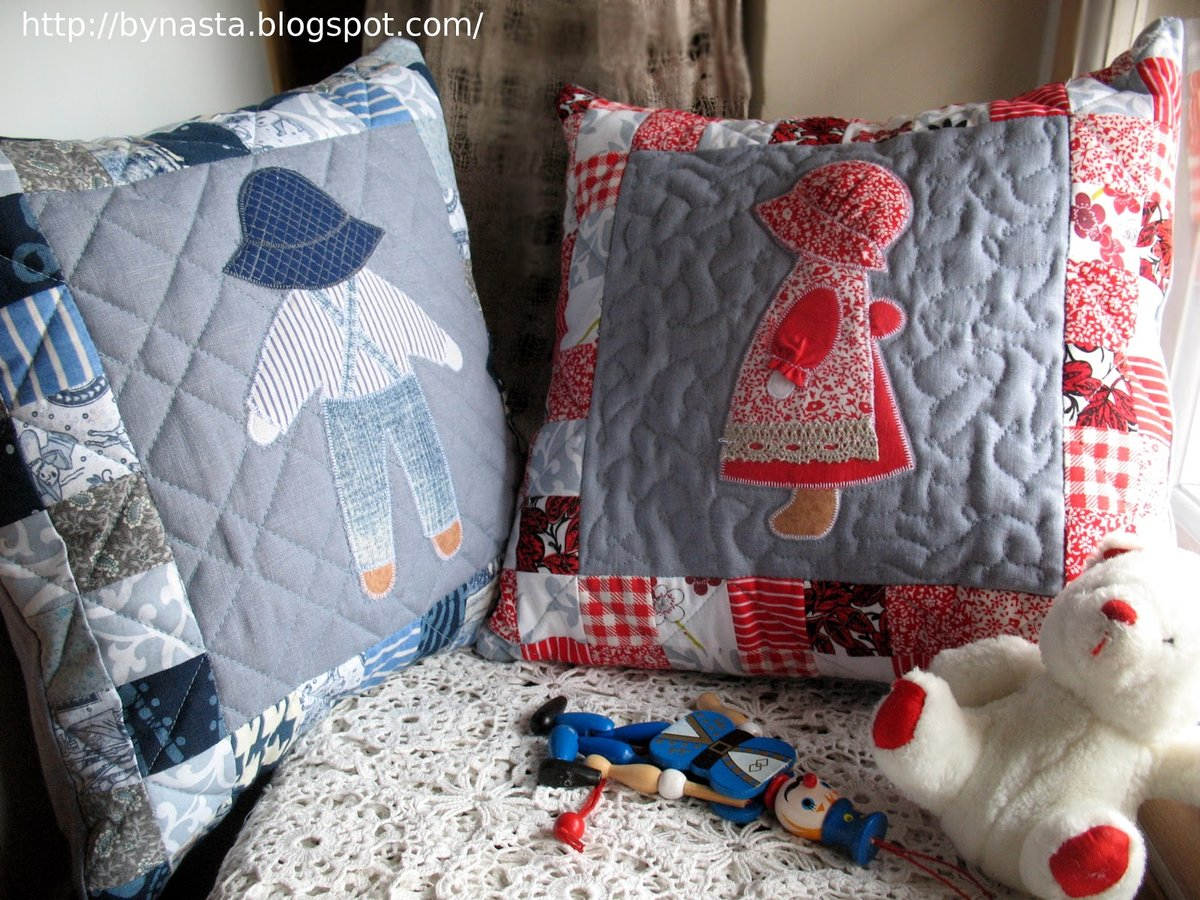 Подушки для детской комнаты своими руками мастер класс