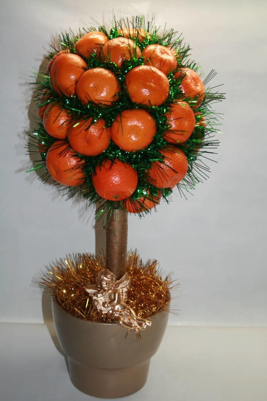 Декоративное мандариновое дерево своими руками 67