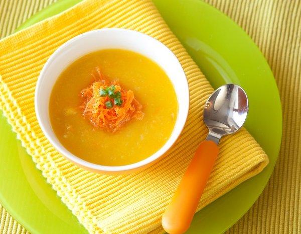 Тыквенный суп пюре для детей рецепт