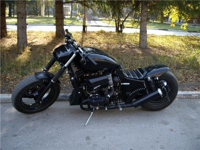 Тюнинг мотоцикла днепр своими руками 60